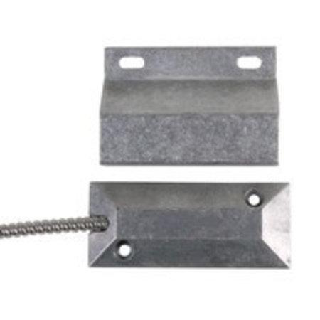Aluminium roldeur contact voor vloermontage met weerstanden