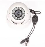 Beveiligingscamera IR Dome Sony 600TVL 2.8-12mm wit