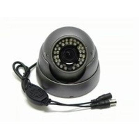 Beveiligingscamera IR Dome Sony 700TVL 2.8-12mm grijs