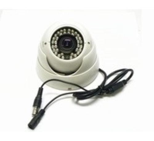 Beveiligingscamera IR Dome Sony 700TVL-E 2.8-12mm wit