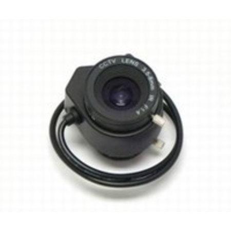Beveiligingscamera lens 1/3 inch 3,5-8mm auto iris