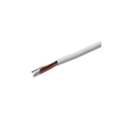 Beveiligingskabel 6 aderig afgeschermd 2x0,5mm 4x0,22mm per