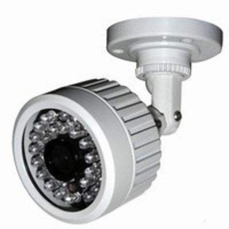 Bullet camera waterdicht met 6.0 mm lens en IR verlichting