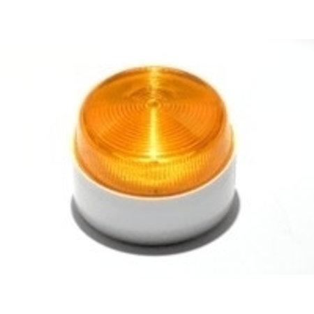 Flitser Elmdene, flitser,1 W., IP65, extra laag model kleur oranje