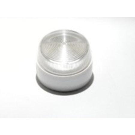 Flitser Elmdene, flitser,1 W., IP65, extra laag model wit