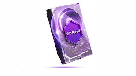 Harddisk WD Purple 1TB