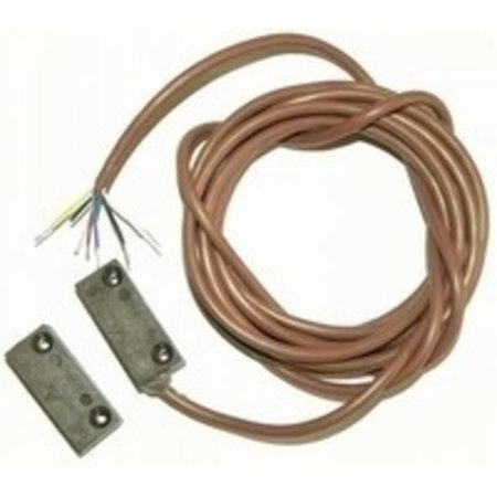 Magneetcontact opbouw bruin met weerstanden 1KOhm