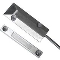 Opbouwcontact zwaar aluminium  LET OP NO contact