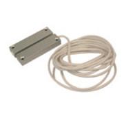 Opbouwmagneetcontact aluminium contact 4HD met weerstanden 1