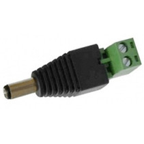 Voeding schroef connector male