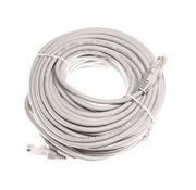 UTP kabel 20 meter RJ45 netwerkkabel CAT5e grijs