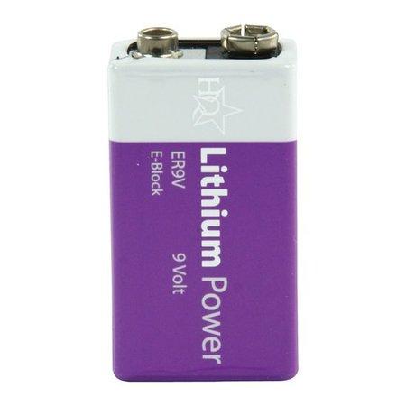 HQ Batterij 9Volt Lithium