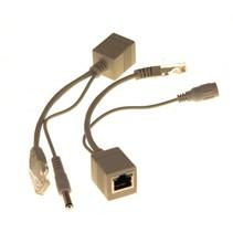 Ethernetkabel met voeding
