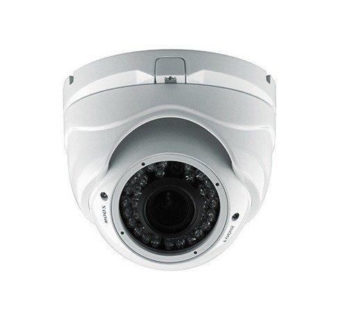 OBS Beveiligingscamera Dome Turbo TVI Full HD met Sony 2.4MP CMOS 1080P met variabele lens 2.8-12mm