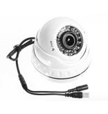 OBS Beveiligingscamera Dome Turbo TVI Full HD met Sony 2.4MP CMOS 1080P met variabele lens 2.8-12mm kleur wit