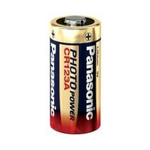 Panasonic CR123A lithium 3Volt batterij