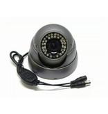 Beveiligingscamera IR Dome Sony 600TVL 2.8-12mm grijs
