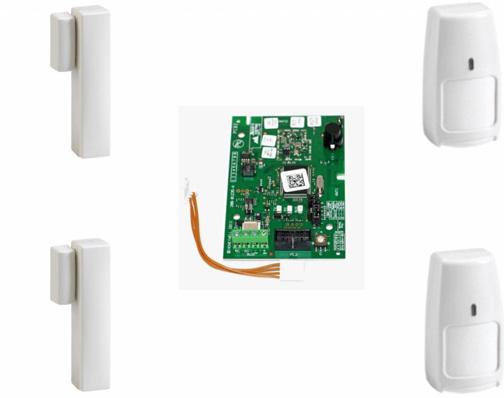 Galaxy RF Starter kit 02-A 2x IR8M en 2x DO8M