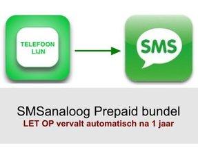 SMSanaloog prepaid