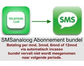 SMSanaloog abonnement