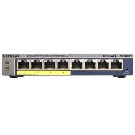 Netwerkapparatuur zoals switch en Hub voor beveiligingscamera en IP camera's