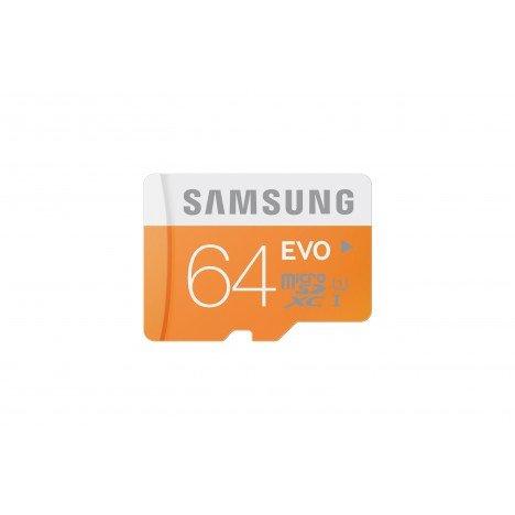 Samsung EVO 64GB micro SD kaart met houder