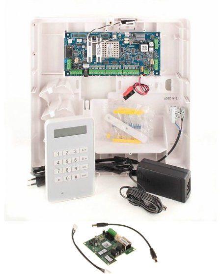 Alarmsysteem Galaxy Flex 3-20  met MK8 bedienpaneel en IP module