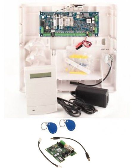 Honeywell Galaxy Alarmsysteem Galaxy Flex3-20 met MK7prox  bedienpaneel en IP module