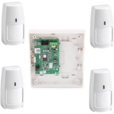Honeywell draadloos Galaxy RF Starter-kit 4x PIR IRPI8M diervriendelijk