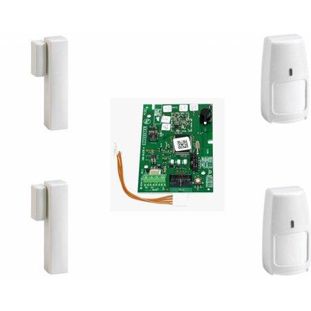 Honeywell draadloos Galaxy RF Starter kit 02-B 2x IRPI8M en 2x DO8M voor de Galaxy Flex