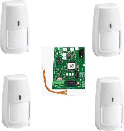 Galaxy RF Starter-kit print 2C 4x PIR IRPI8M