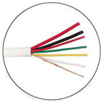 100 meter Alarm kabel 2x0,75+4x0,22m afgeschermd soepel in doos