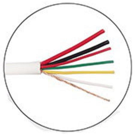 100 meter Alarm kabel 2x0,75+4x0,22m afgeschermd soepel in