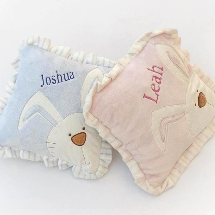 Pink Bunny Baby Cushion