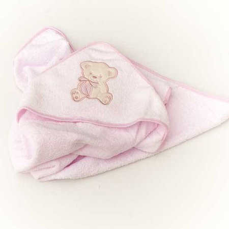 Pink Baby Hooded Towel