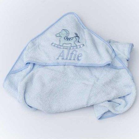 Blue Baby Hooded Towel