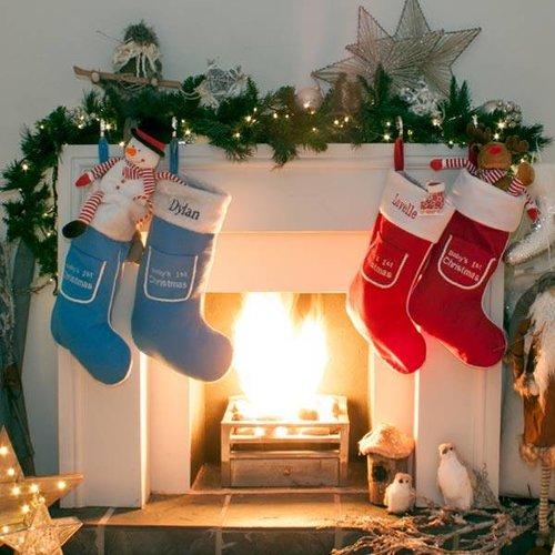 Baby's 1st Christmas Stockings