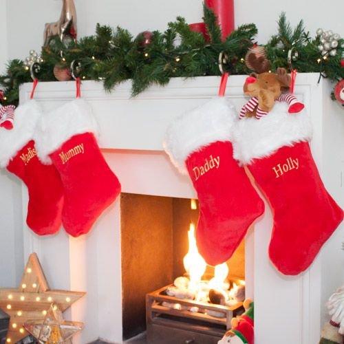 Traditional Christmas Stocking