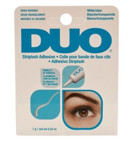 DUO Striplash Adhesive White Clear