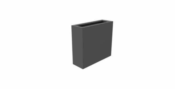 Aluminium Rechthoek