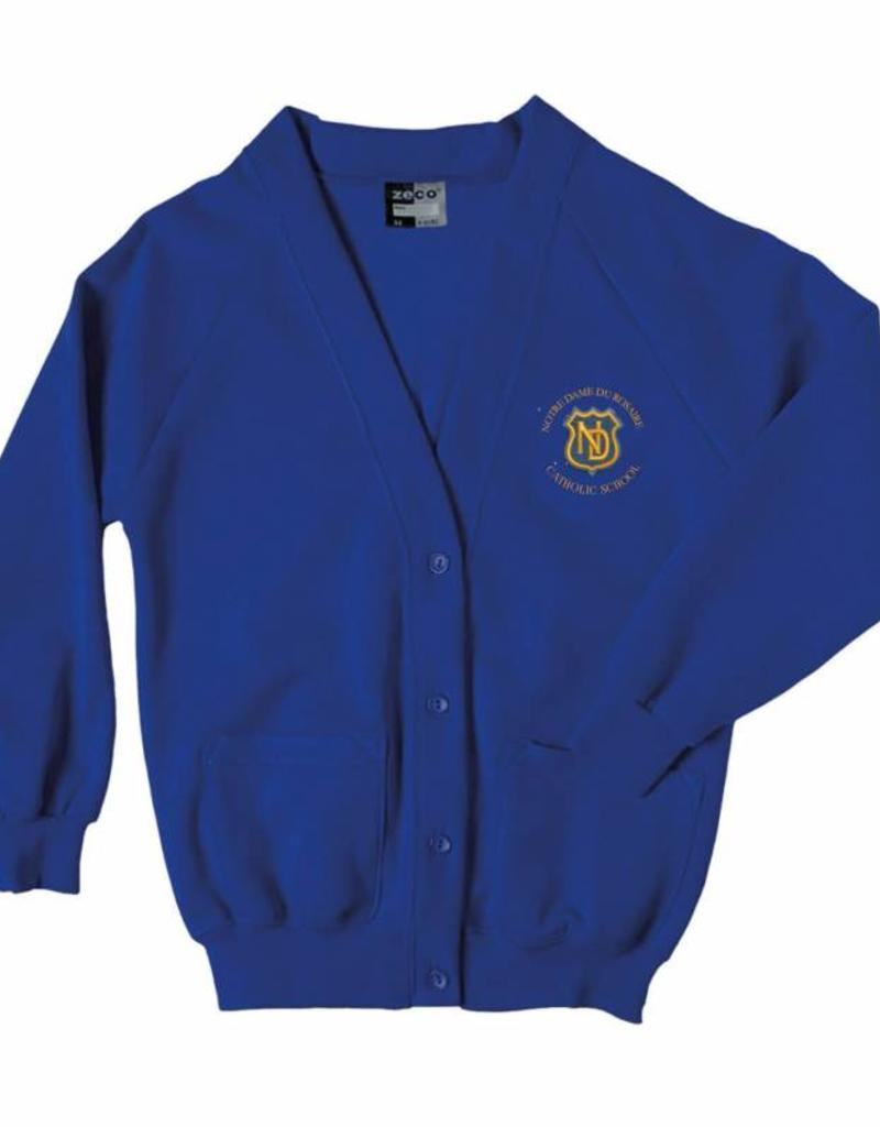 Notre Dame Primary School Knitted Cardigan