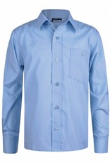 Sky Blue Long Sleeve Shirt Twin Pack