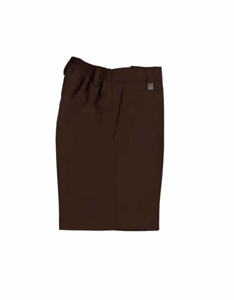 Brown Pull Up Shorts