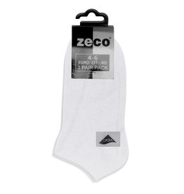 White Trainer Socks (3 Pack)