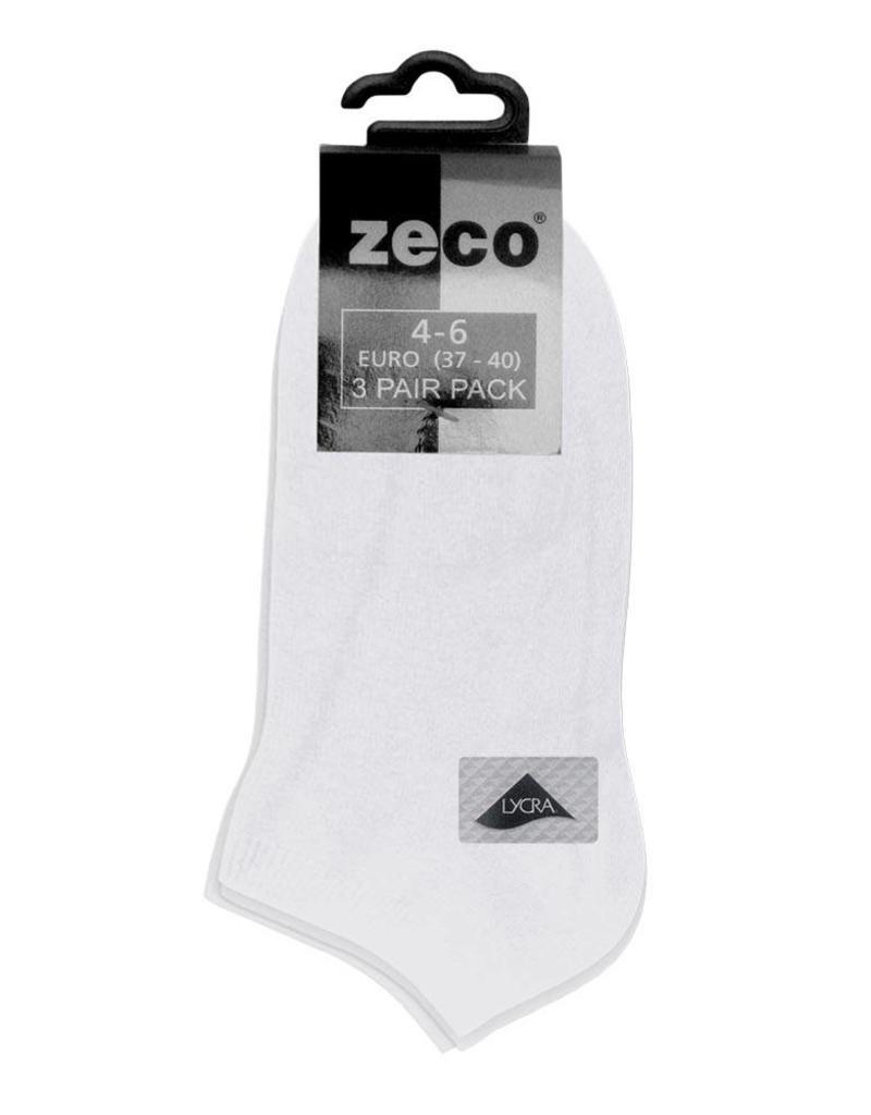 Girls/Boys White Trainer Socks (3 Pack)