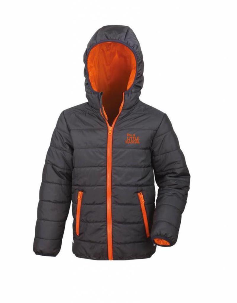 I'm a Little Rascal padded coat