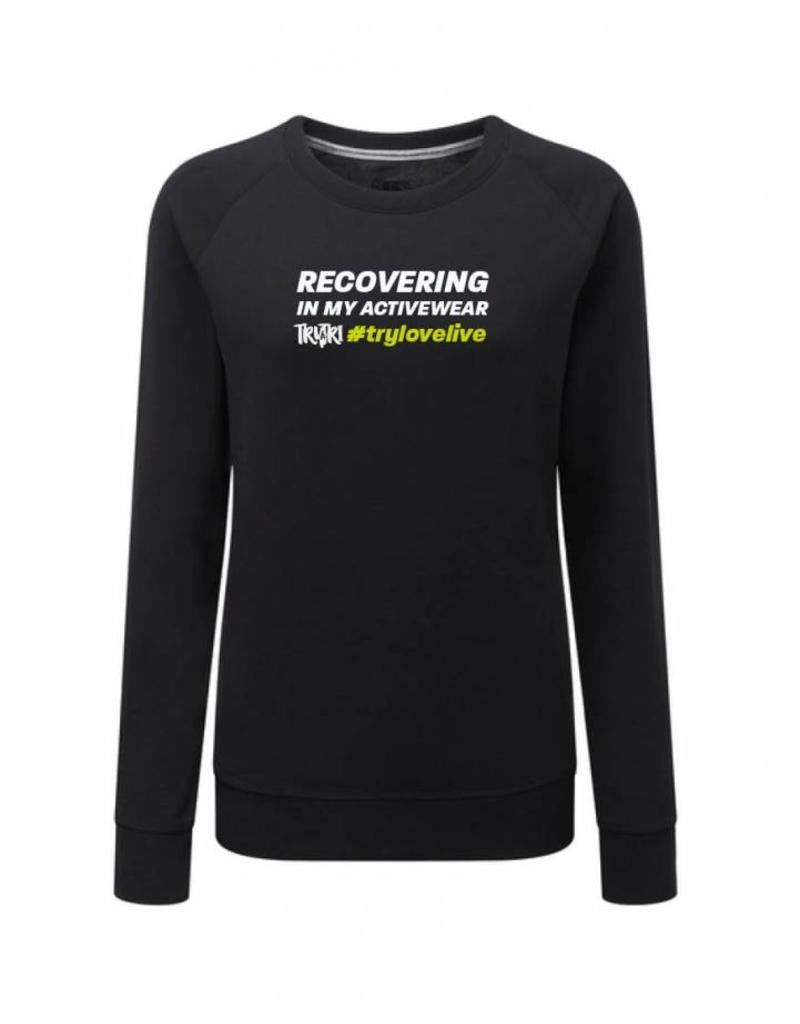 Unisex RECOVERING IN MY ACTIVEWEAR Supersoft Sweatshirt