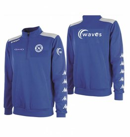 Rovers Player's Kappa 1/4 zip match day top