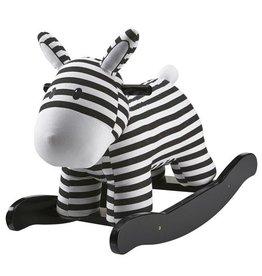 Kid's Concept Kid's Concept schommelpaard zwart/wit