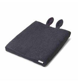 Liewood Liewood waskussenhoes 62x50 rabbit dark grey